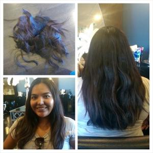 Hair be gone! September 2014.