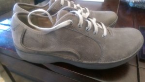 I went with these Clarks Wave Walk shoes. Great purchase on my behalf.