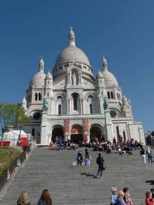 Basilique du Sacré-Coeur completed in 1914. Is majestic and considered holy ground. They also ask that you please don't take pictures while inside, please be respectful.